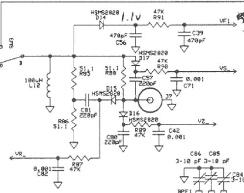 MFJ-269 Antenna Analyzer Repair   kh6dk Works